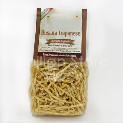 Pasta Busiata Trapanese