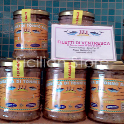 Filetti di Ventresca 210gr